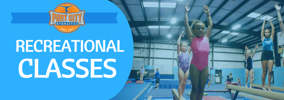 recreational classes, classes, gymnastics